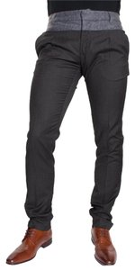 Antony Morato Men's Wool Color-blocking Pants