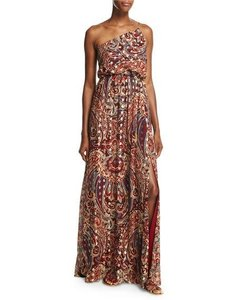 Haute Hippie Silk Classic Formal Full Length One Dress