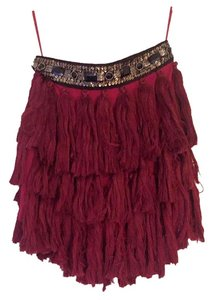 English Rose Skirt Burgundy