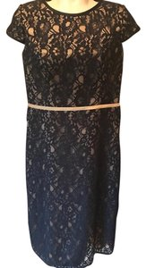 After Five Party Evening Lace Empire Waist Dress