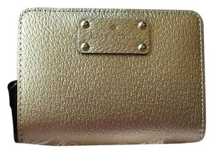 Kate Spade Cara Wellesley Rose Gold Bifold Wallet