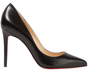 Christian Louboutin Pigalle Louboutin 100mm Nappa Black Pumps