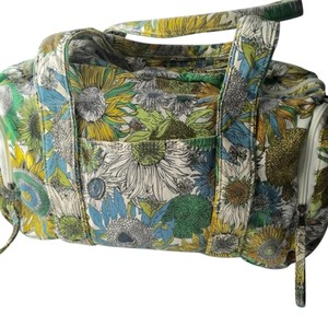 Liberty of London for Target Diaper Small Duffel yellow,white,green,blue Travel Bag
