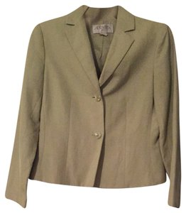 Casual Corner Annex Light green Skirt Suit