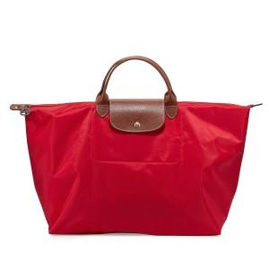 Longchamp Red Garance Travel Bag