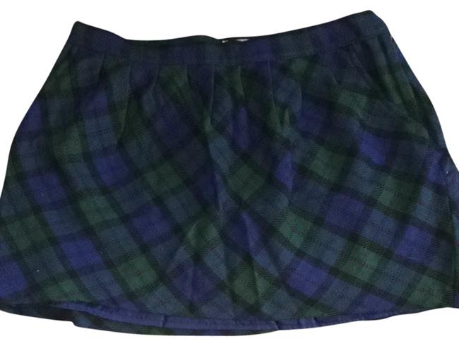 Old Navy Skirt Blue And Green