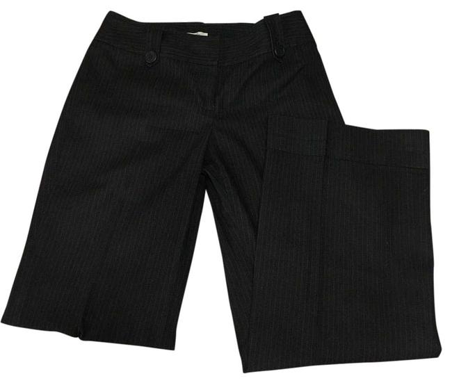 Item - Black/Grey Pin Stripe Julie Cut Pants Size Petite 6 (S)