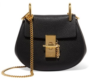 Chloé Nano Micro-mini Drew Grain Cross Body Bag