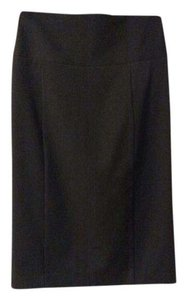 Express Pencil Midi Stretchy Skirt Black