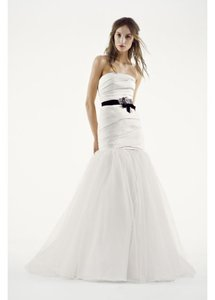 White By Vera Wang Mikado Fit And Flare (vw351169) Wedding Dress