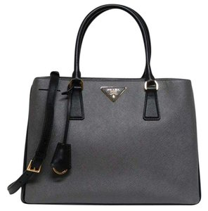 Prada Tote in Black/Grey