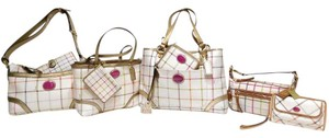 Coach Heritage Plaid Satchel in Tattersall