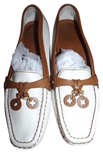 Louis Vuitton white Flats