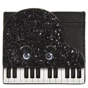 Kate Spade Kate Spade Jazz Things Up Piano Leather Card Case Wallet