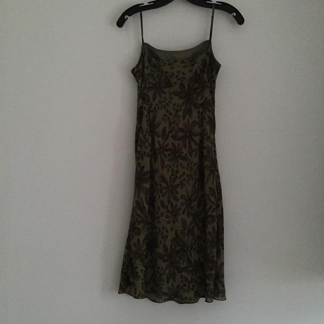 Ann Taylor LOFT short dress Olive Green on Tradesy