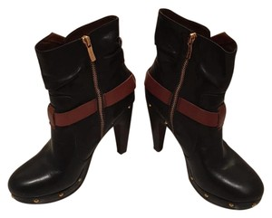 BCBGeneration Bcbg Leather Brown Black Boots