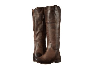 Frye Paige Riding Tall Dark Brown Boots
