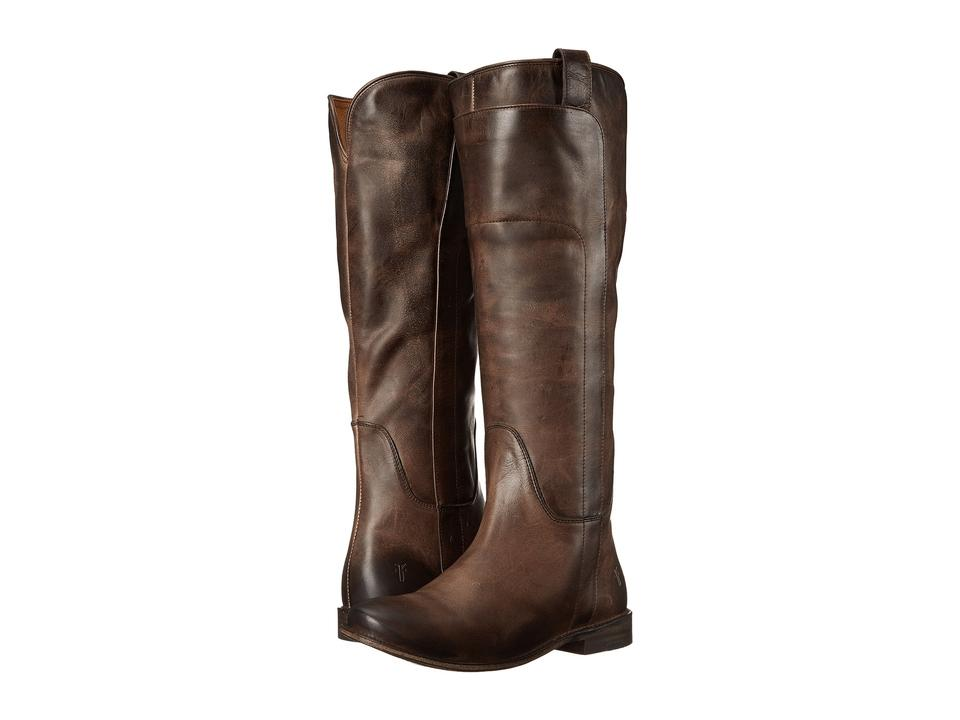 1b1388553312 Frye Dark Brown Paige Tall Riding Boots Booties Size US 5.5 Regular ...