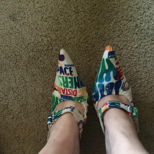 Rouge Helium Multicolored Pumps
