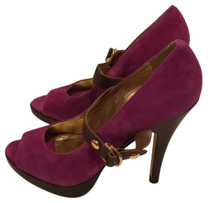 Michael Kors Magenta purple Pumps