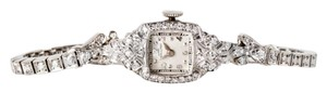 Hamilton Vintage Hamilton All Platinum Ladies Diamond Watch