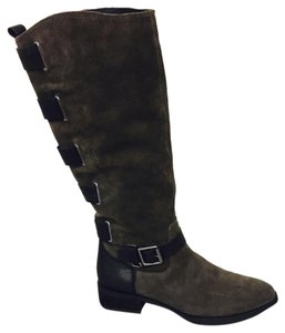 Sole Society Ash/black Boots