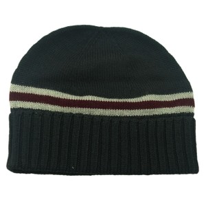 Gucci GUCCI 294731 Men's Wool with Web Beanie Hat S