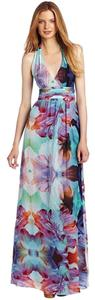 Nicole Miller Silk Gown Full Length Dress
