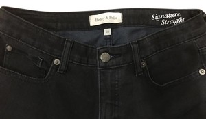Henry & Belle & Black 28 Soft Straight Leg Jeans-Light Wash