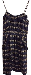Marc by Marc Jacobs short dress Navy Blue, white bows on Tradesy