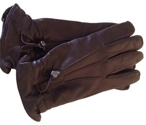Burberry Burberry Men's Leather Gloves