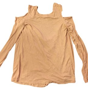 BCBGMAXAZRIA Top Pale or Dusty Pink
