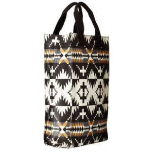 Pendleton Classic Travel Printed Signature Spider Rock Canvas Luggage Mini Tote in Black