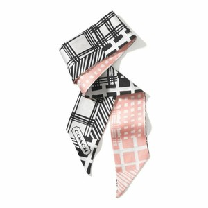 Coach Patchwork Ponytail Scarf