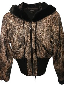 bebe Black and bronze or gold Jacket