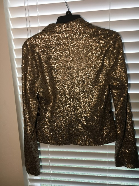 MM Couture Gold Blazer Image 2
