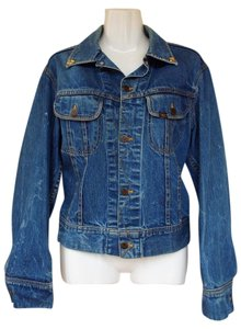 Lee Vintage Embellished Washed Womens Jean Jacket