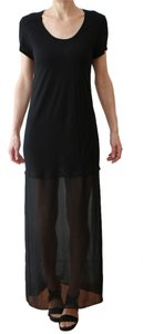Black Maxi Dress by BCBGMAXAZRIA Resort Ready