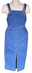 Guess By Marciano short dress Blue Over Alls Denim Jean Vintage on Tradesy