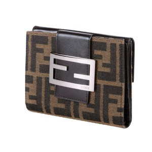 Fendi FENDI WALLET IN CLASSIC FF ZUCCA W/ DUST COVER