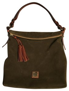 Dooney & Bourke Suede Like New Excellent Condition Worn Once Hobo Bag