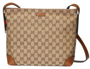 Gucci Medium Gg Canvas Shoulder Bag