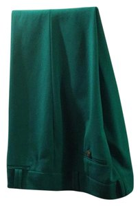 Ann Taylor LOFT Straight Pants Green