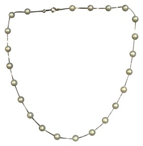 Other Tincup Pearl Necklace