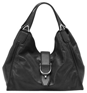 Gucci Washed Soft Calf Leather Hobo Bag