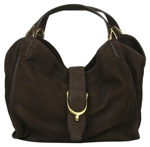 Gucci Cocoa Soft Leather Medium Hobo Bag