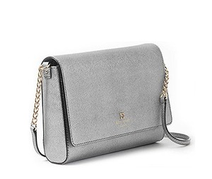 Kate Spade Silver/Anthracite Clutch