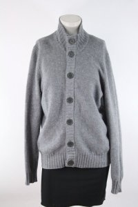 Cullen Wool Cashmere Sweater Gray Cardigan