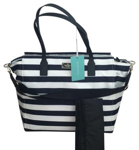 Kate Spade OFFSHORE/ CREAM STRIPE Diaper Bag