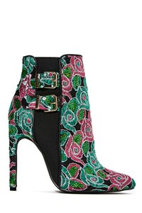 Priveleged Sequin Embroidered Multi Boots